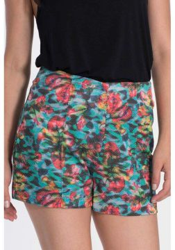 Short My Place Hot Pants Estampado