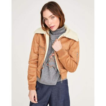 Jaqueta Suede - Shoulder
