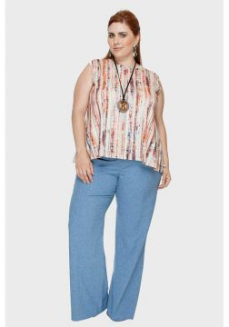 Calça Flare Manchester Plus Size - Passy