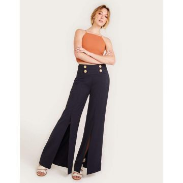 Calca Pantalona Crepe - Shoulder