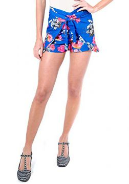 Short envelope azul floral