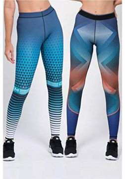 Calça Legging Fitness CCM Dupla Face Slayer P