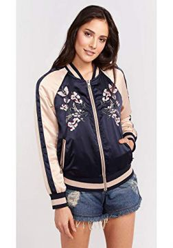 JAQUETA BOMBER BORDADA-MULTICOR-42