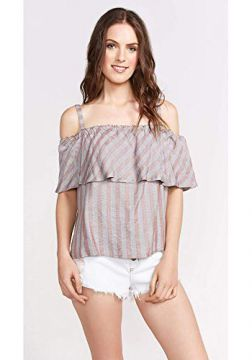 BLUSA SHOULDER LISTRADA-MULTICOR-P