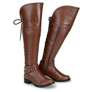 43a99e690 Bota Feminina Over The Knee Cano Alto
