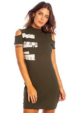 Vestido New York Feminino Hang Loose Verde Militar