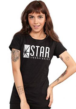 Camiseta The Flash Serie STAR Laboratories