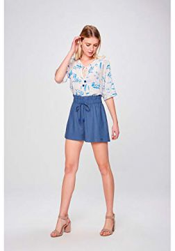 Look Elegante Short Clochard