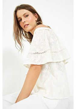 BLUSA OMBRO LAISE GINGER OFF WHITE