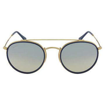 5ce01787e9b4a Óculos de Sol Ray Ban Round Double Bridge RB3647N 001 9U-51