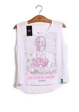 Camiseta Feminina Breaking Bad Dead Gus