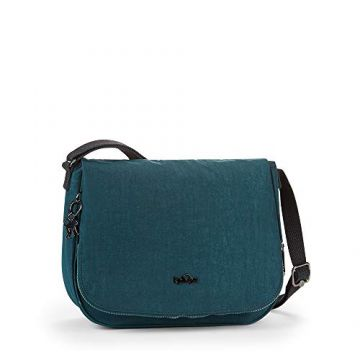 Bolsa Kipling Earthbeat M Verde
