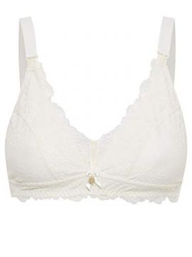 dddf795da Sutiã Loungerie Renda Maternity Off White