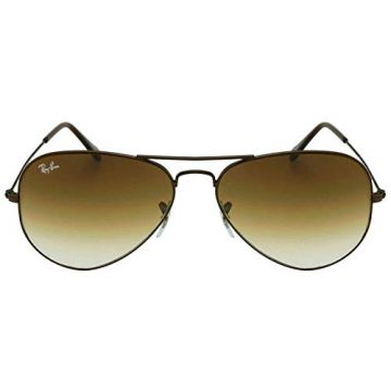 a856bb135f Óculos de Sol Ray Ban Aviador Metal Rb3025l 014/51/58 Marrom