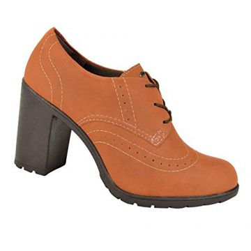 Oxford Dakota Salto Alto Feminino
