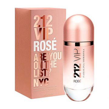 Perfume 212 Vip Rose 80ml Edp Feminino Carolina Herrera