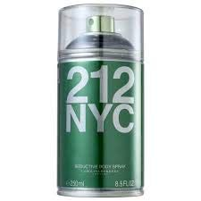 Body Spray 212 NYC Seductive Feminino 250ml