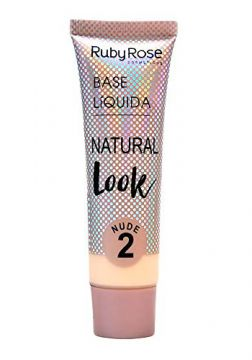 Base Líquida Ruby Rose Natural Look Nude 2 HB-8051-29ml