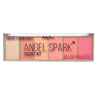 Paleta de Blush Pocket Angel Spark HB 6108