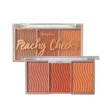Mini Kit Blush Peachy Cheeks Ruby Rose