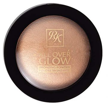 Pó Bronzer All Over, Rk By Kiss, Light Glow