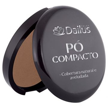 Pó Compacto 10, Dailus, Chocolate