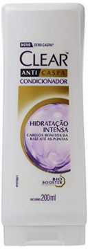 Condicionador Anti Caspa 200Ml Hidratação Intensa Unit, Clea