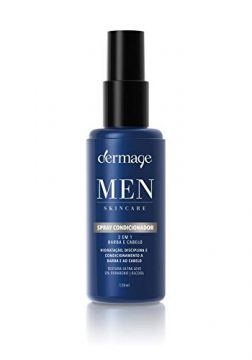 Men Spray Condicionador 2 em 1, Dermage