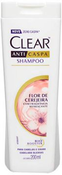 Shampoo Anti Caspa 200Ml Flor de Cerejeira Unit, Clear