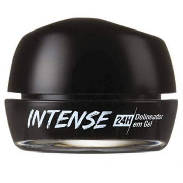 Kiss New York Delineador Gel Intense 24 Horas Preto (rbgl01b