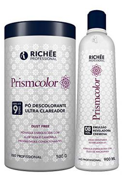 42c6be545 Pó Descolorante Richée Prismcolor Ultra Clareador + Ox 8 Vol