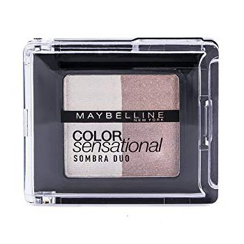 Sombra Duo Color Sensational Indie, Maybelline, Branco e Mar