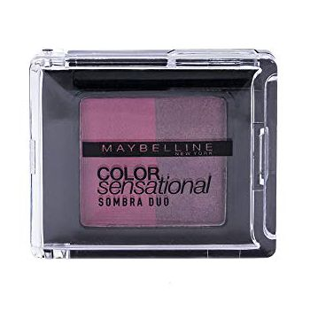 Sombra Duo Color Sensational, Maybelline, Rosa e Roxo
