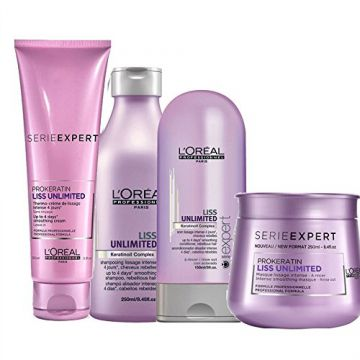 Loreal Kit Liss Unlimited Pequeno