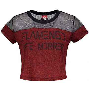 Blusa Cropped Flamengo Forever