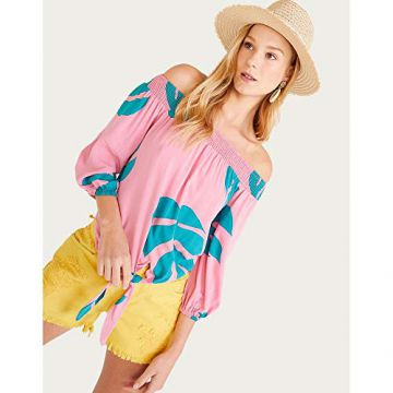 BLUSA CIGANA AMARRACAO-ESTAMPADO-PP