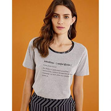 T-SHIRT INTUITION-CINZA-P