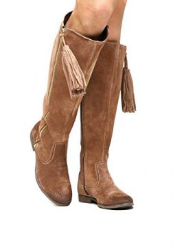 1f74554a59 Bota Couro Over the Knee Shoestock Barbicacho Feminino