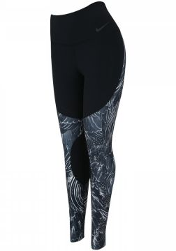 Calça Legging Nike Power Tight Gym Flutter - Feminina