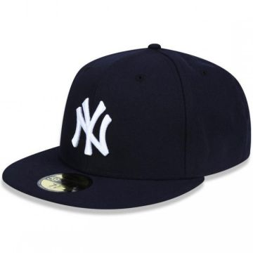 Boné Aba Reta New Era 5950 Mlb New York Yankees 17689 - Fech ... 4c650a68f77
