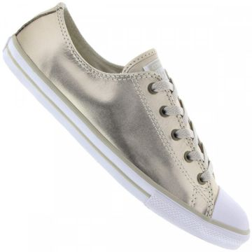 d68d9943a Tênis Converse All Star Ct As Dainty Leather Ox Ce0034 - Fem