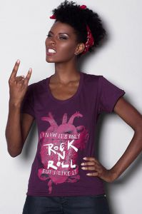 Camiseta It s Only Rock N  Roll