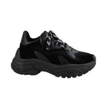 Tenis Harper Black Chunky Sneaker Dad Shoes - Cocco Miami