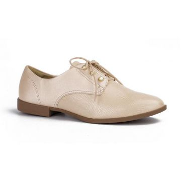 Sapato Oxford Dakota Nude - Dakota