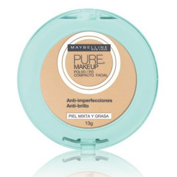 Pó Compacto Maybelline Pure Makeup Arena Natural 13g