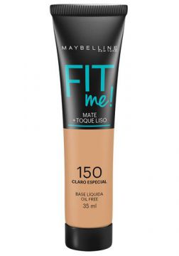 Maybelline Base Líquida Oil Free Fit Me! Cor 150 Claro Espec
