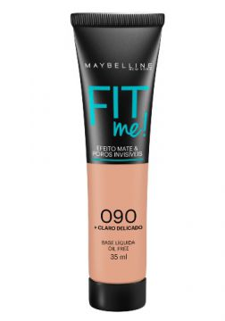 Base Líquida Maybelline Fit Me! Oil Free 090 Claro Delicado