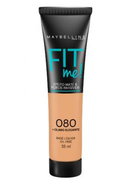 Base Líquida Maybelline Fit Me! Oil Free 080 Claro Elegante