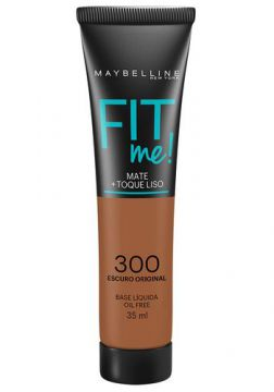Maybelline Base Líquida Oil Free Fit Me! Cor 300 Escuro Orig