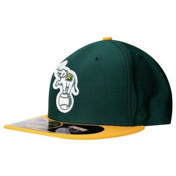 Boné New Era 5950 MLB BP Diamond Oakland Athletics Team Colo 552ff5a185a